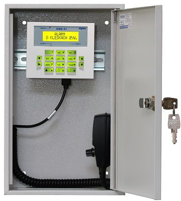 DMS-21 control panel