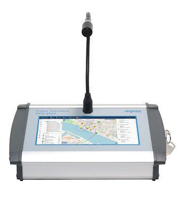 DPS-4000 control panel