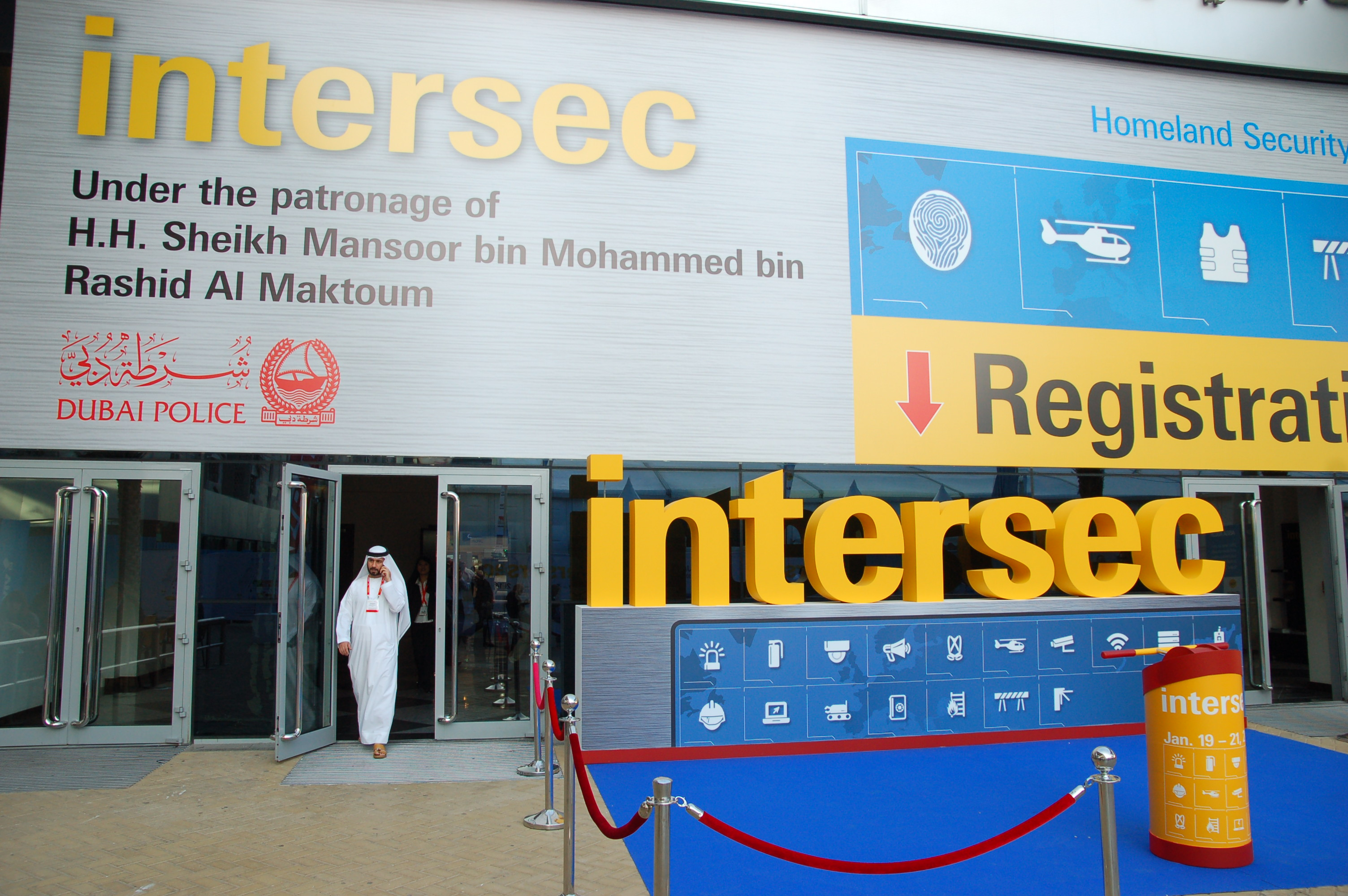 DIGITEX at Intersec 2014 in Dubai