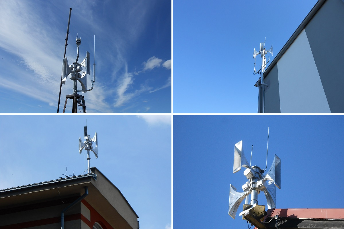 Public warning system in Kartuskie Province, Poland