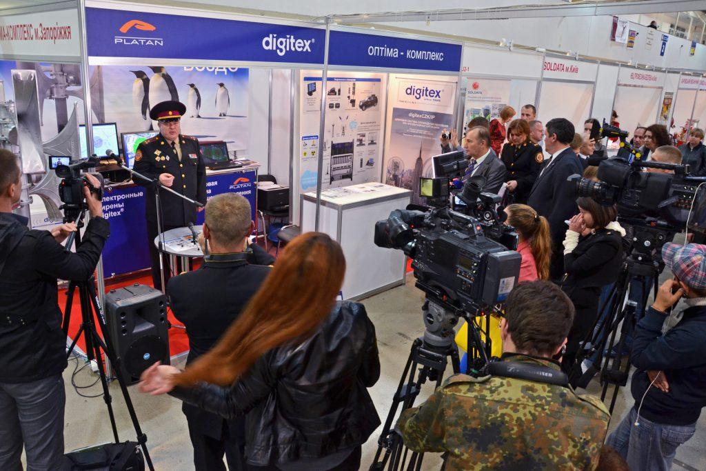 digitex on Protection Technologies 2014 Kiev