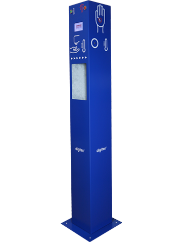 SKT30 Body temperature scanner with hand disinfection